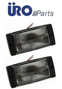 For BMW Volvo 75-95 bmper mount Fog Light Front L+R x2 NEw Fog Lamp Diving Light