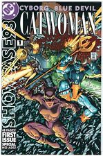 Showcase 93 #1 (DC 1993) NM Catwoman Cyborg - FREE shipping