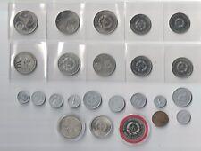 Konvolut an DDR Münzen (Mark, Pfennig, Gedenkmünzen)