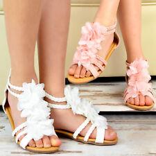 NEU süße Kinderschuhe Sandalen Riemchen Mädchen Schuhe Keilabsatz Sommerschuhe