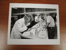 Vintage Glossy Press Photo Natick MA Army Labs MRE Taste Testers