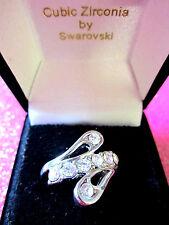 Swarovski Cocktail Ring Size 6 1/2