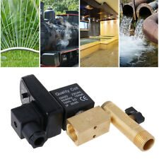 """AC 220V Electronic Timed 2way Air Compressor Gas Tank 1/2"""" Automatic Drain Valve"""