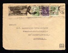 6254-ESPAÑA-SPAIN-MILITARY CENSOR COVER VALENCIA to HOLLAND 1940 WWII.