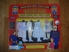 MAGICLOTH PAPER DOLLS INTRODUCING BETSY MCCALL REPRODUCTION BY SCHYLLING