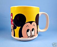 Mug Coffee Cup 12 oz DISNEY Mickey Minnie Mug Donald Duck Ceramic Applause
