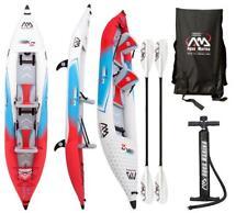 """Aqua Marina Betta 13,6 """" Professionnel Kayak 2 Personnes Tours avec 2 Pagaie"""