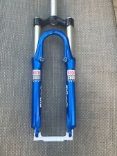 "Rock Shox SID Race Dual Air Race Fork V-Brake + Disc 26"" Rare Blue Colorway"