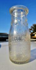 BLOOMINGDALE DAIRY CO, NEWARK, NJ Antique Vintage ESSEX COUNTY Milk Bottle 1/2Pt