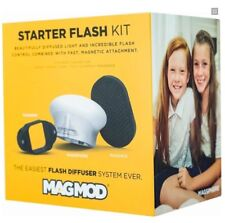 MagMod Starter Kit. Flash Modifier Set with MagGrip, MagSphere and MagGrid