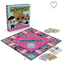 LOL Surprise Monopoly Board Game Childrens Games