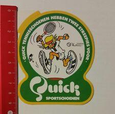 Aufkleber/Sticker: Quick Sportschoenen - Tennisschoenen (25021759)