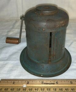 ANTIQUE MONKWELL PENCIL SHARPENER POINTER MECHANICAL ROTATING BLADE OFFICE TOOL