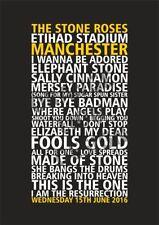 Stone Roses Indie & Britpop Posters