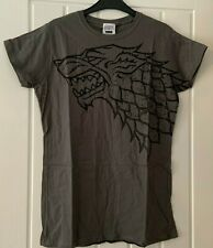 NEW GAME OF THRONES Grey Short Sleeve Summer T-Shirt Ladies Size XL