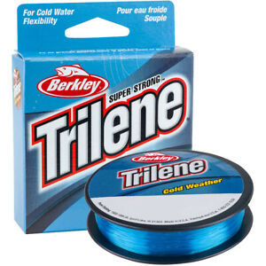 Berkley Trilene Cold Weather Fishing Line (110 yds) - Electric Blue