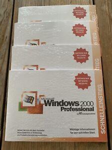 Windows 2000 Professional mit SP2, Deutsch, OEM Vollversion mit MwSt Rechnung