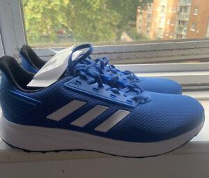 Adidas Duramo Trainers Blue Size 9 BNWOB
