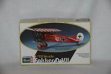 Revell Fokker D VII 1:72  Model Kit Complete