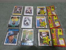 3 - 1986 Topps Baseball Sealed Rack Packs - Sharp Corners. Possible Hits!