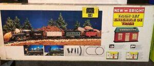 1993 New Bright Rio Grande Railroad Train Set No. 171 ***NEW IN SHOP WORN BOX***