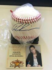 Rhona Mitra Underworld Selene Autographed Baseball with photostat cert