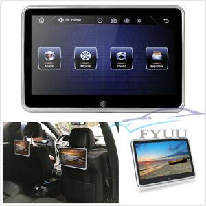 "10.1"" Ultra-thin Auto Headrest Video Monitor MP5 Player FM BT USB/SD Mirror Link"