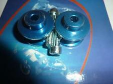 Neuf Paire de diabolos levage bleu anodisé diamètre 10 mm diabolo bequille sta