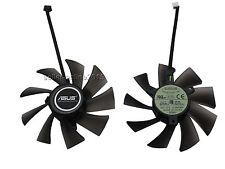 NUOVO ASUS GTX 570 580 680 hd7950 7970 video card EVERFLOW VENTOLA FAN 4 pin 95mm
