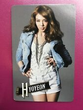 Hyoyeon SNSD Girls' Generation 2011 First Japan Tour Photocard