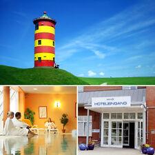 Kurzurlaub Wellness, Romantik & Nordsee 4★ Hotel Novum bei Emden Wochenende 2T