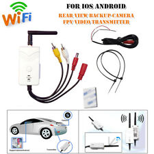 Wifi Car Rear View Backup Camera FPV Video Transmitter For iOS Android Universal