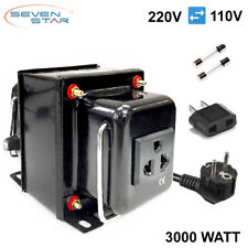 SevenStar THG-3000 UD Watt 220V/110V Step Up/Down Voltage Converter Transformer