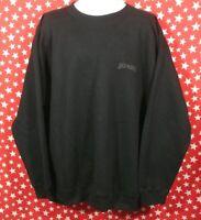 VTG Levis Strauss Black Sweatshirt XL/2XL Cotton Blend Made in USA Rare New NWOT