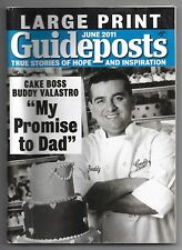 June 2011 Guideposts True Stories Of Hope Magazine Large Print Buddy Valastro