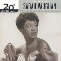 SARAH VAUGHAN The Best Of CD NEW 20th Century Masters Milllennium Collection