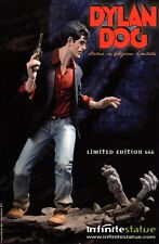 Cartolina DYLAN DOG Infinite statue