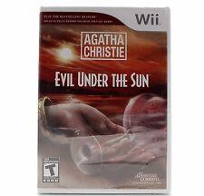 NEW Agatha Christie: Evil Under the Sun - Nintendo Wii