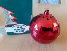 Woolworths Christmas Tree Decoration Bauble - Heat Detector Sensor Alarm - Fire