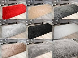 Small Large Washable Rugs Thick Sparkly Shiny Soft Glitter Pile Floor Mats Cheap