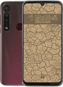 Coque Crystal Clear pour Motorola Moto G8 Plus Housse Étui Mobile de Protection