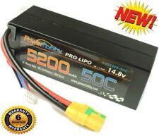 Powerhobby 4S 5200mAh 50C-100C Lipo Battery Hard Case XT90 Anti-Spark Plug
