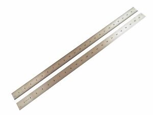 "Taytools  24"" Machinist Ruler Rule 4R (8th 16th 32th 64th) Stainless Steel"