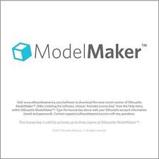 New!!  Model Maker 3D software for Silhouette  $50.00 value  FREE SHIP