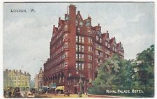 London; Royal Palace Hotel PPC By Gale & Polden, To Mrs Handford, East Grinstead