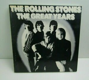 "ROLLING STONES ""THE GREAT YEARS"" UK DECCA 4 LP ALBUM BOXSET 1982 orig."