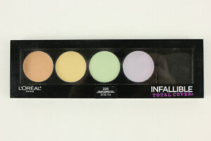 L'Oreal Infallible Total Cover 225 Pro Color Correcting Kit Pallette Makeup