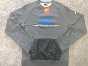 New NIKE Indianapolis Colts Sweater Mens Medium M Crewneck Sweatshirt 686987-063