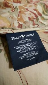 Vintage Ralph Lauren King Comforter Guinevere Collection