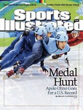 Apolo Ohno Sports Illustrated Magazine Newsstand Edition - Olympic